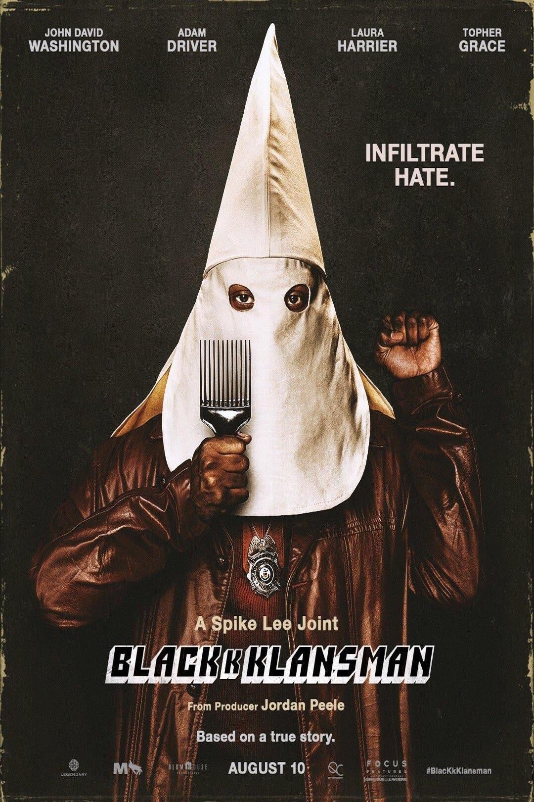 Poster and image movie Film BlacKkKlansman - BlacKkKlansman 2018