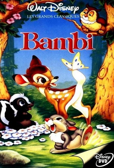 Ver Bambi Online HD Español (1942)