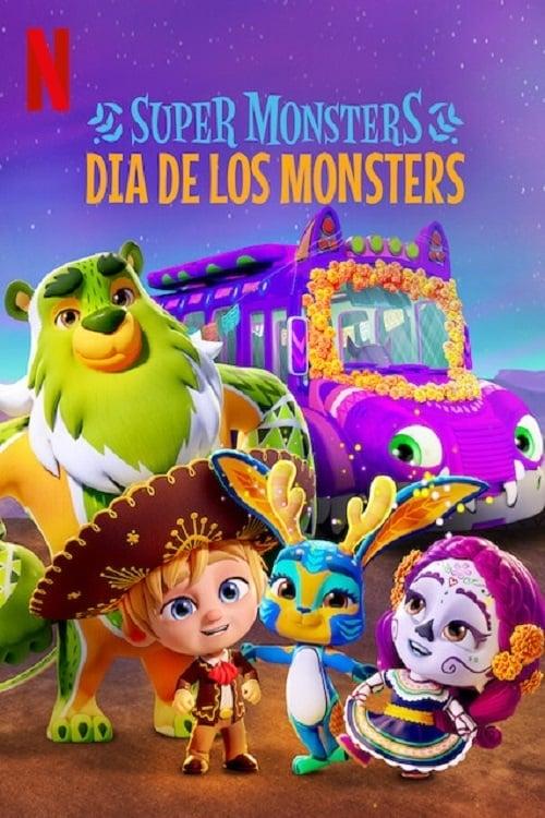 Super Monstros: Dia de Los Monstros Dublado