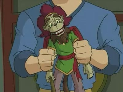 Jackie Chan Adventures Season 2 :Episode 38  I'll Be a Monkey's Puppet