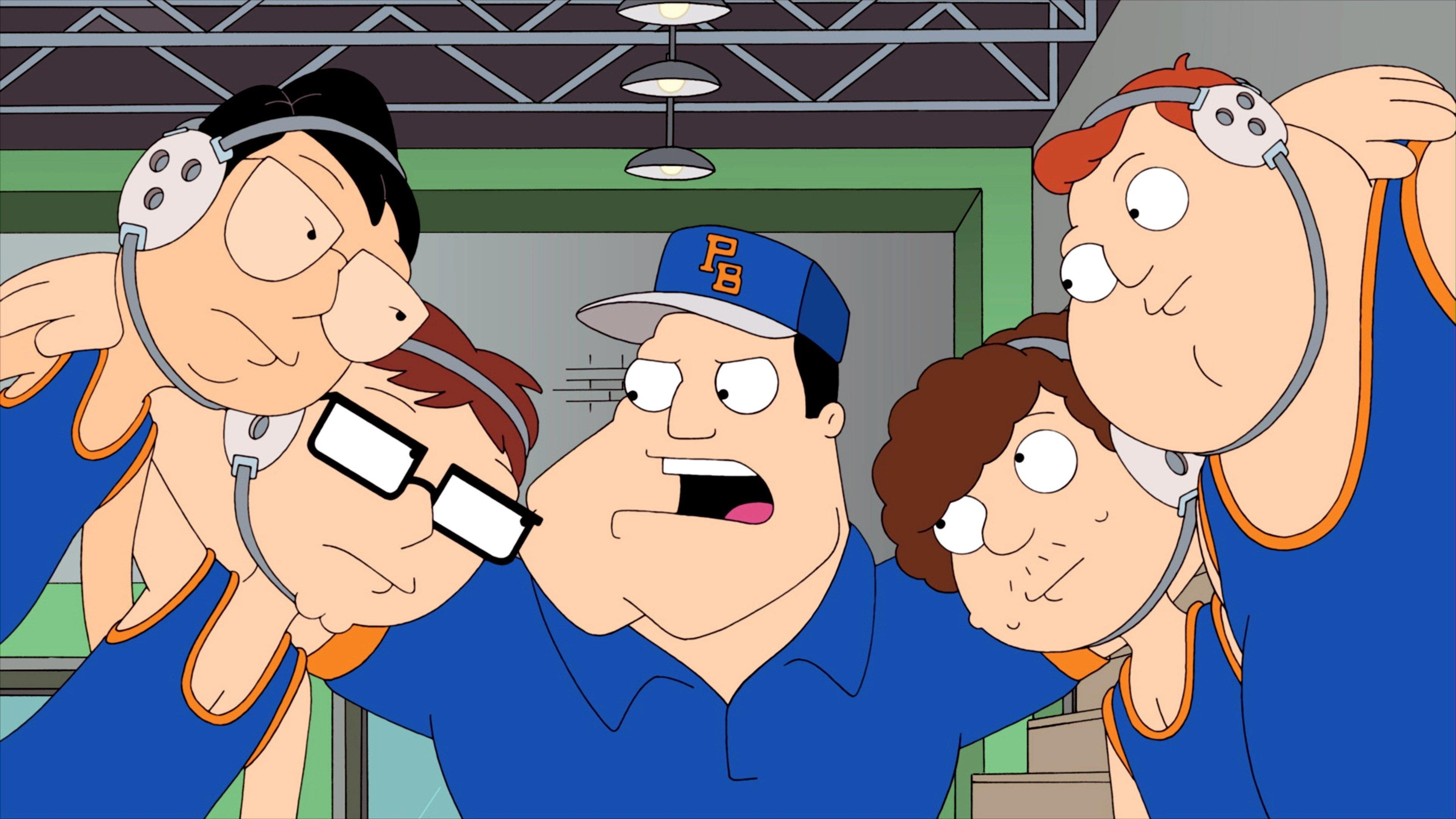American Dad! Season 8 :Episode 12  The Wrestler