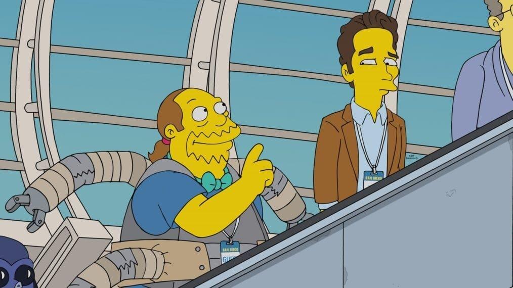 The Simpsons Season 32 :Episode 7  Three Dreams Denied