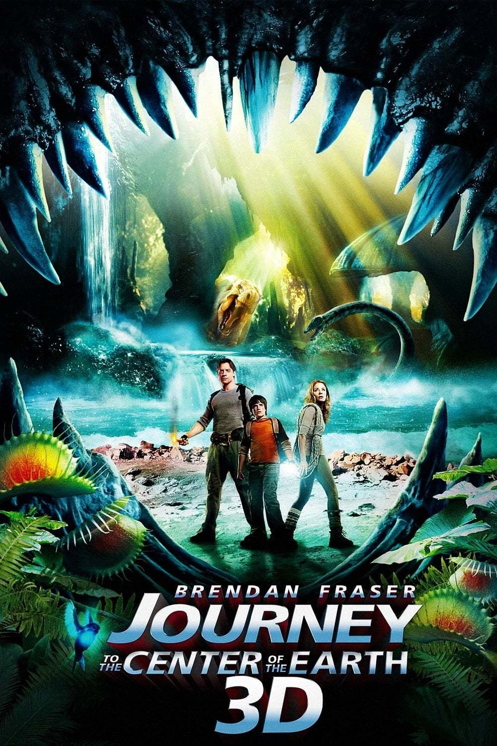 Ver Journey to the Center of the Earth 3D Online HD Español ()