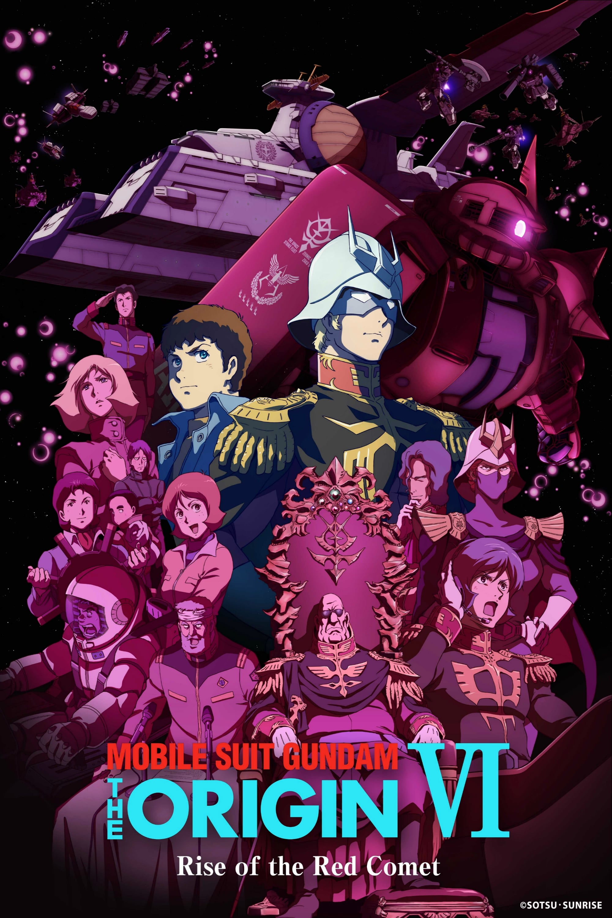 Mobile Suit Gundam: The Origin VI – Rise of the Red Comet (2018)