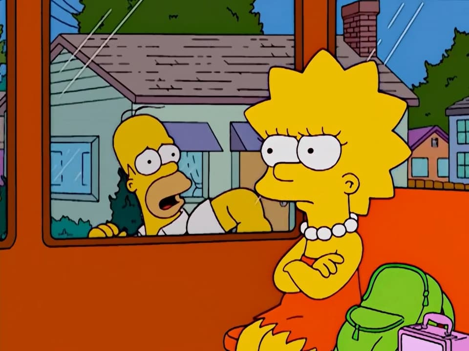 The Simpsons Season 14 :Episode 8  The Dad Who Knew Too Little
