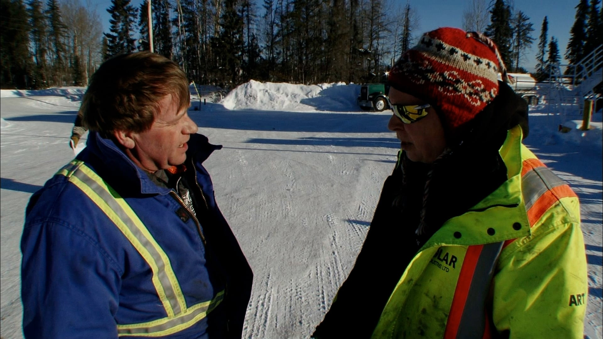 Ice Road Truckers Season 8 :Episode 7  Blazing the Trail