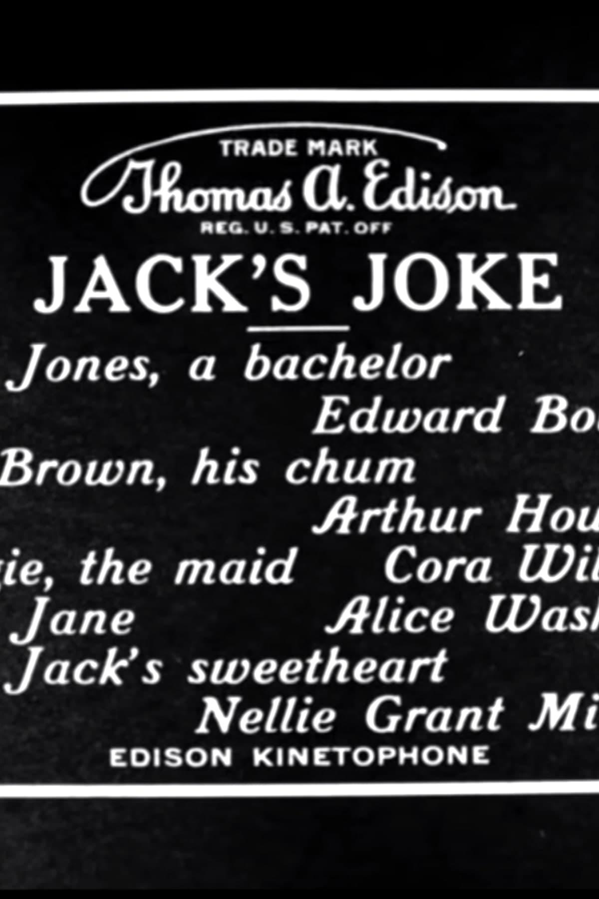 Jack's Joke (1913)