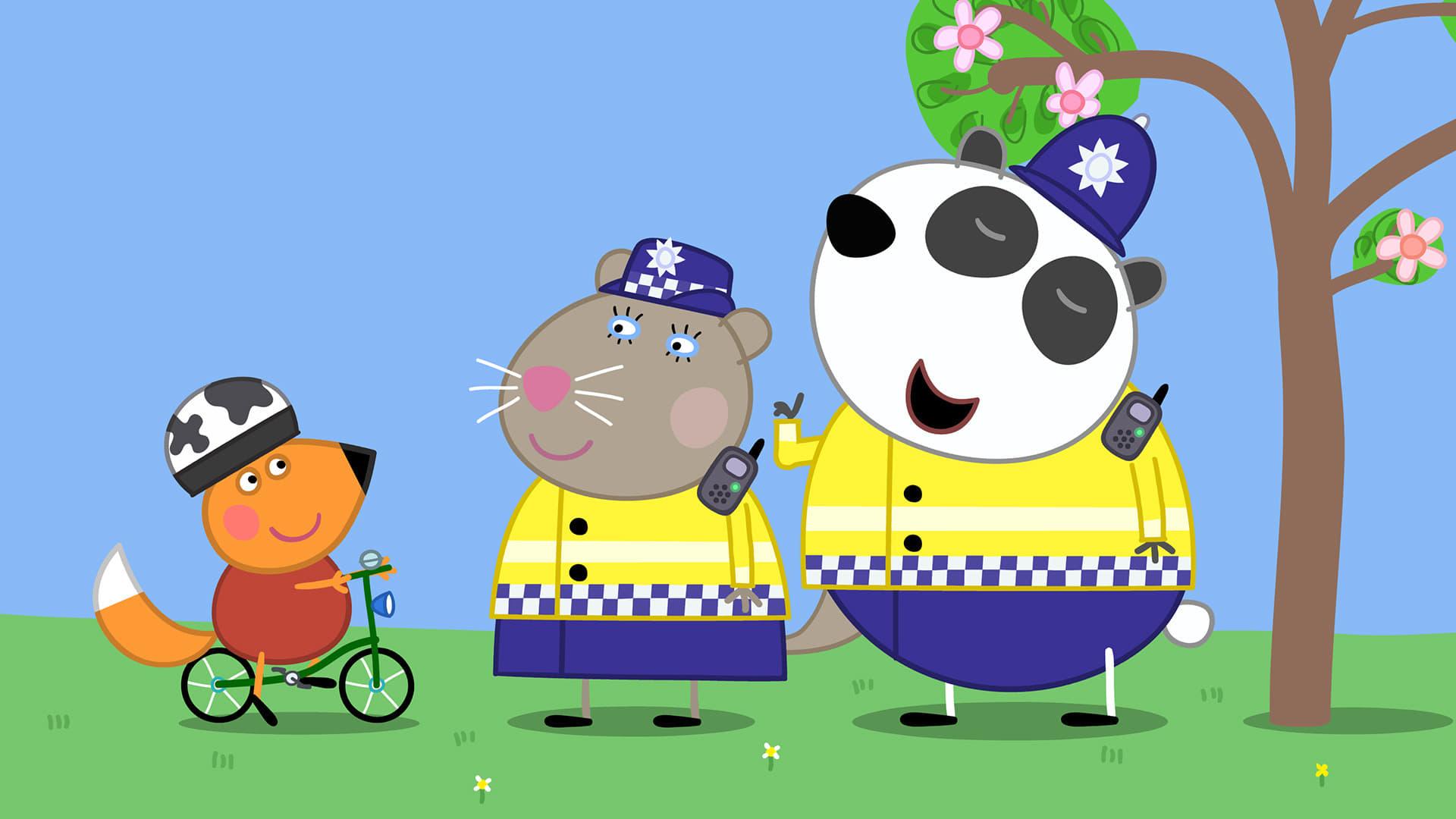Peppa Pig Season 5 :Episode 16  The Police