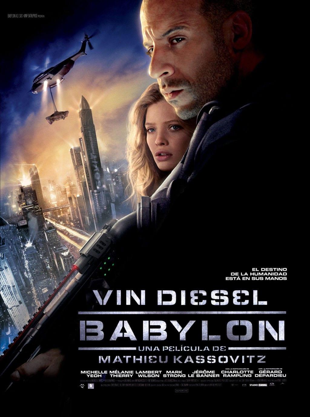 Póster Babylon A.D.