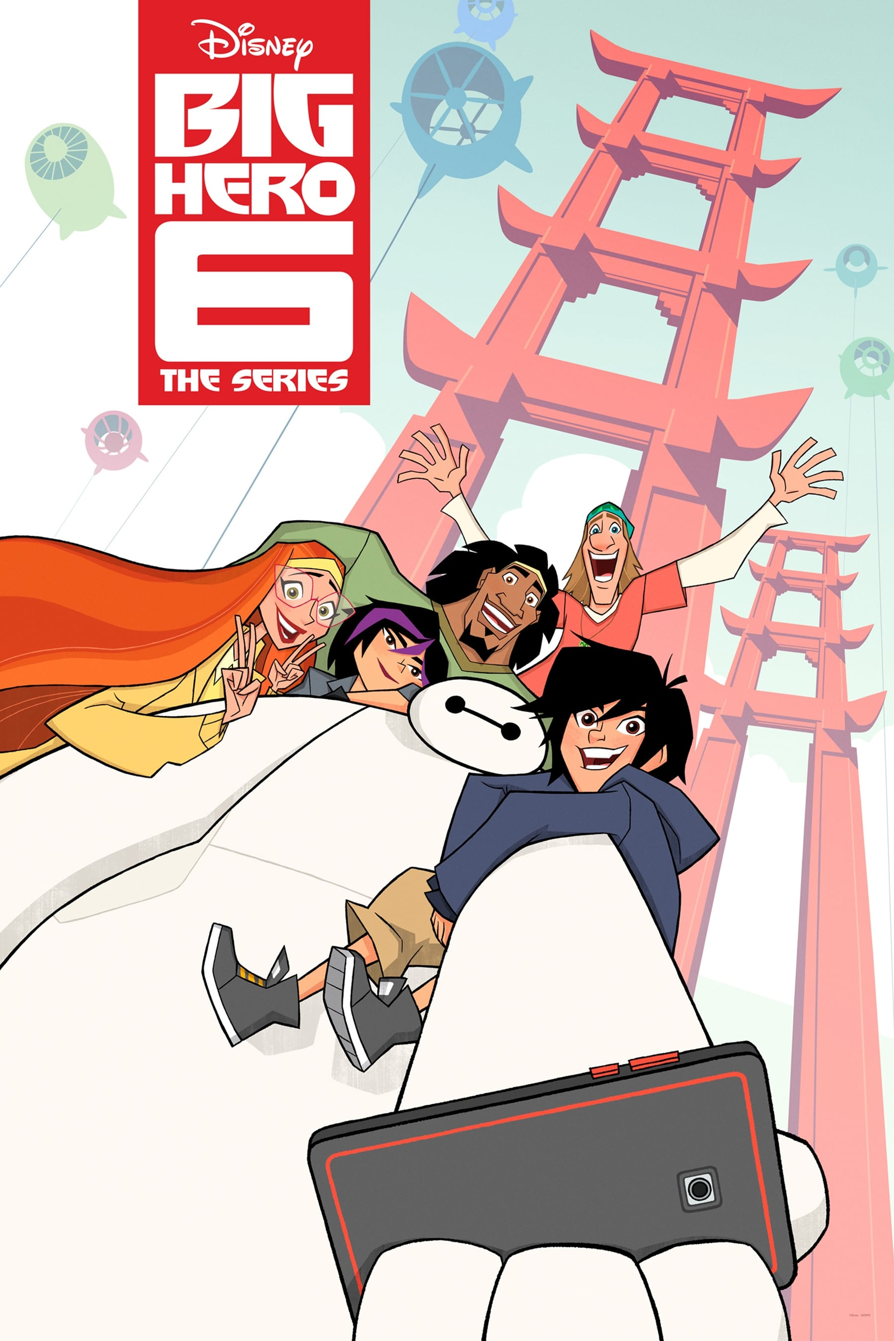 Big Hero 6: The Series Poster