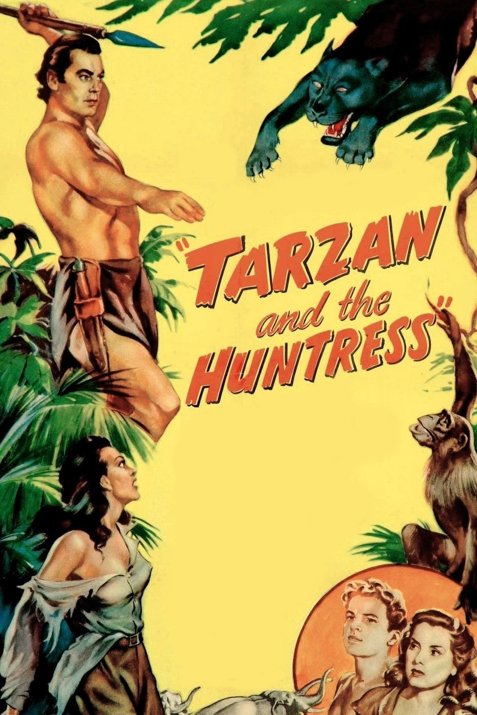 Tarzan and the Huntress (1947)