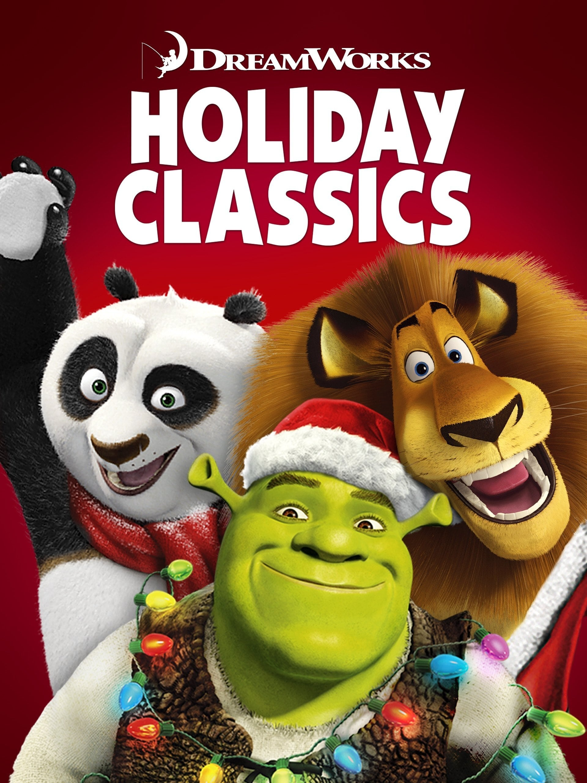 DreamWorks Holiday Classics (Merry Madagascar / Shrek the Halls / Gift of the Night Fury / Kung Fu Panda Holiday) (2012)