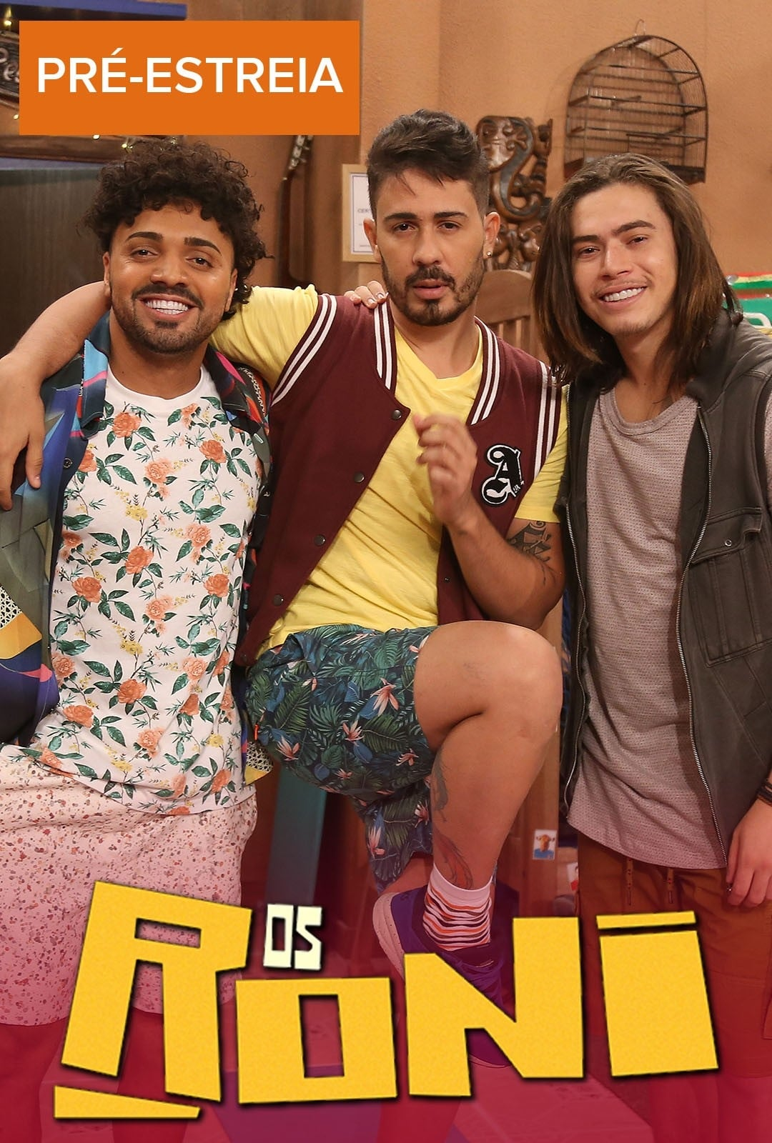 Os Roni 1ª Temporada Completa (2019) Torrent - WEB-DL 720p Nacional Download