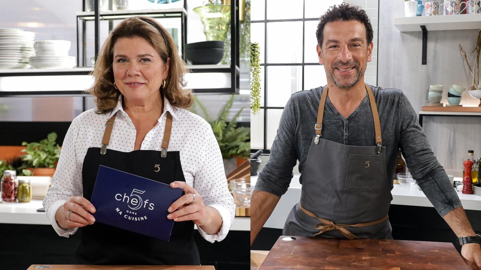 5 chefs dans ma cuisine Season 1 :Episode 24  Episode 24