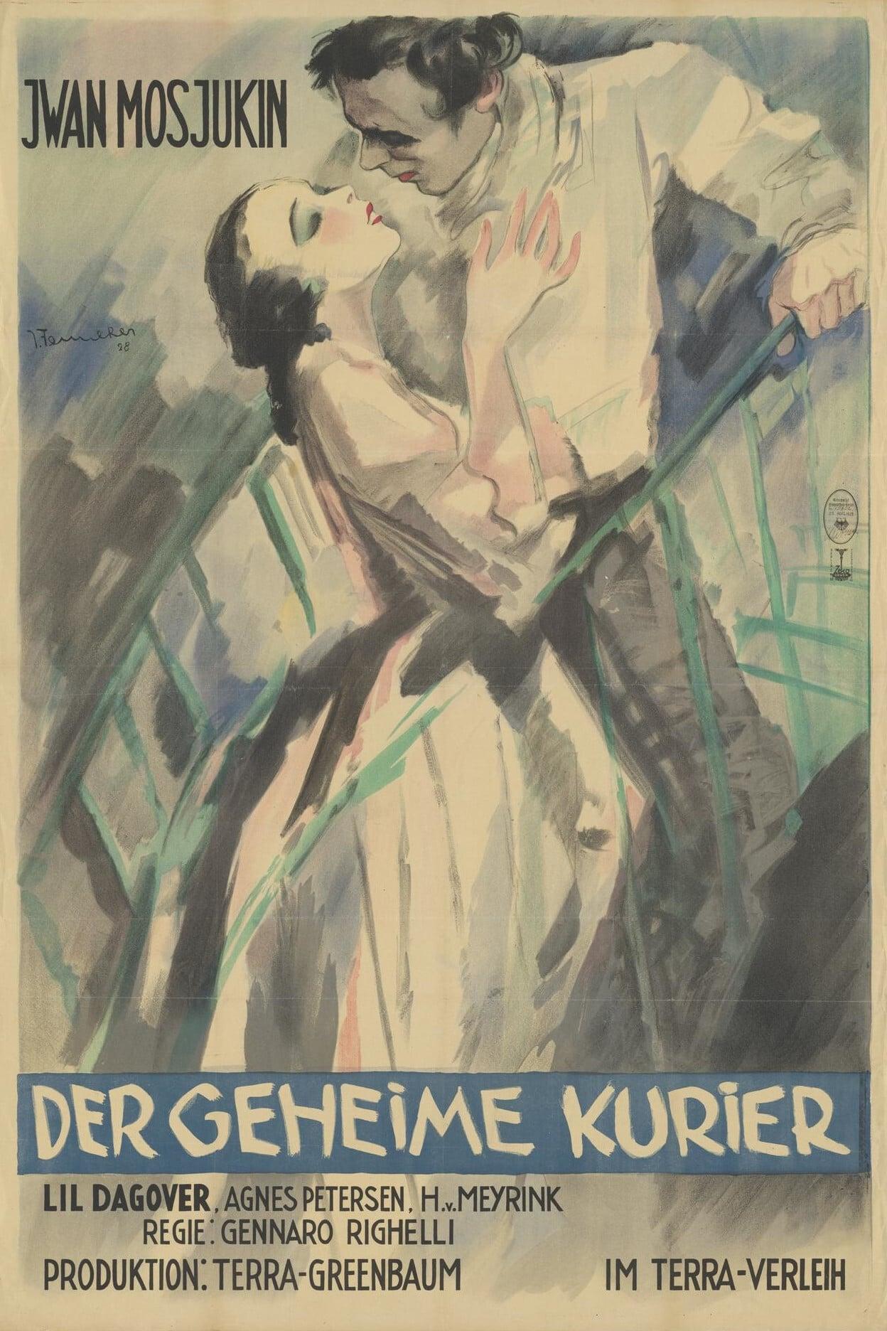 The Secret Courier (1928)