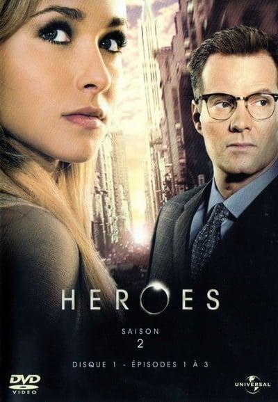 Regarder Heroes Saison 2 en Streaming