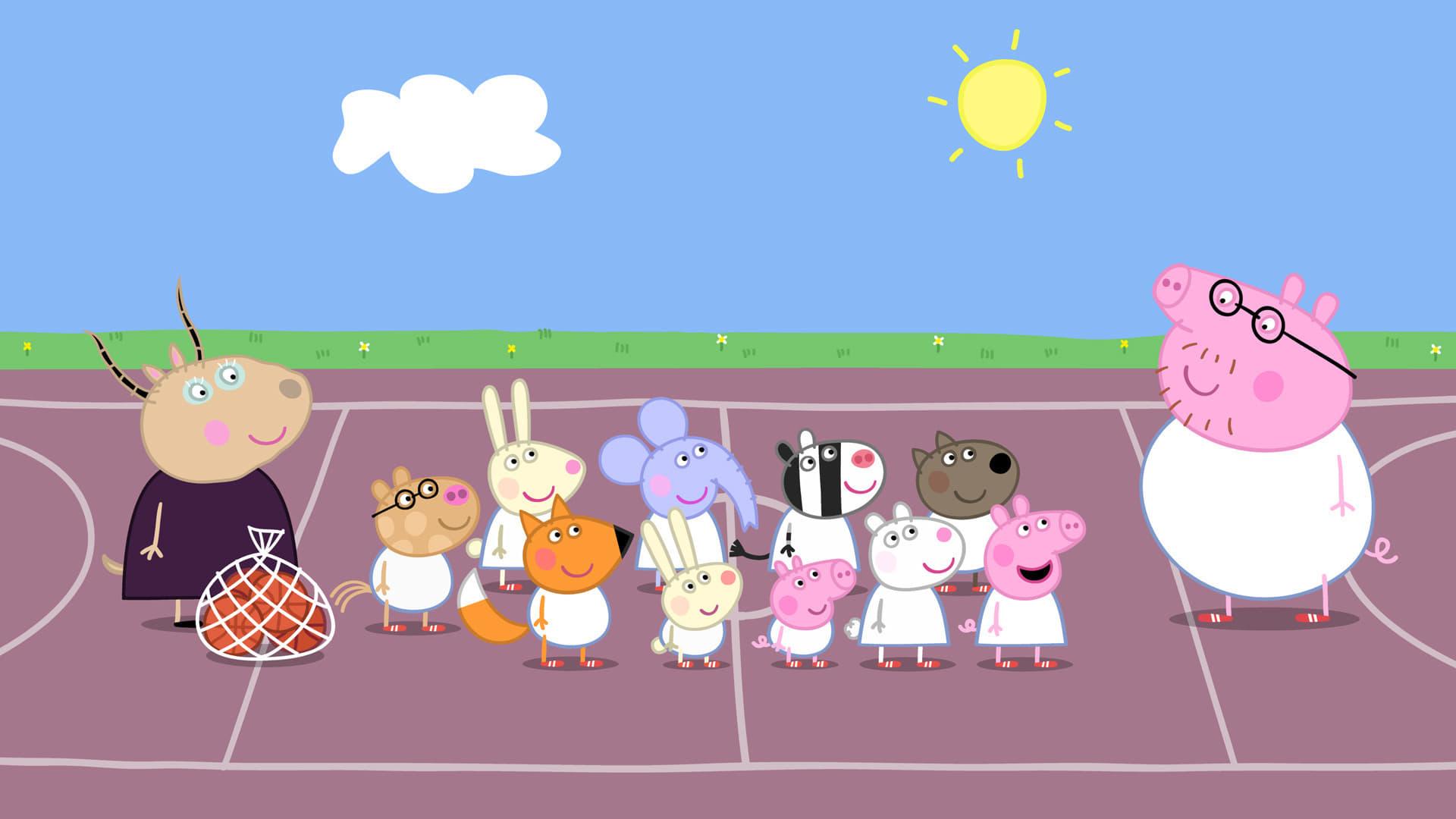 Peppa Pig Season 4 :Episode 3  Basketball