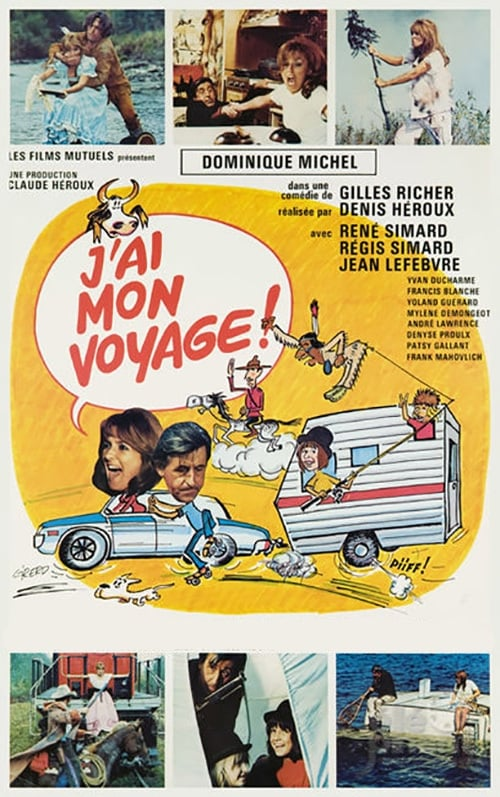 Ver J'ai mon voyage! Online HD Español (1973)