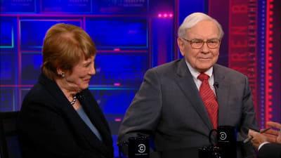 The Daily Show with Trevor Noah Season 18 :Episode 28  Warren Buffett & Carol Loomis