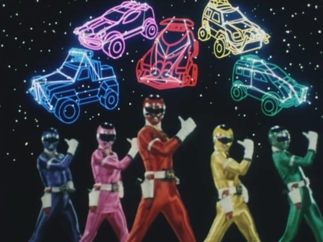 Super Sentai Season 20 :Episode 1  Fighting for Traffic Safety!
