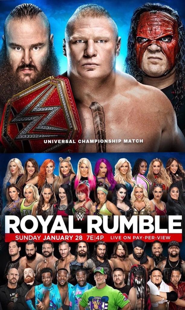WWE Royal Rumble 2018 (2018)