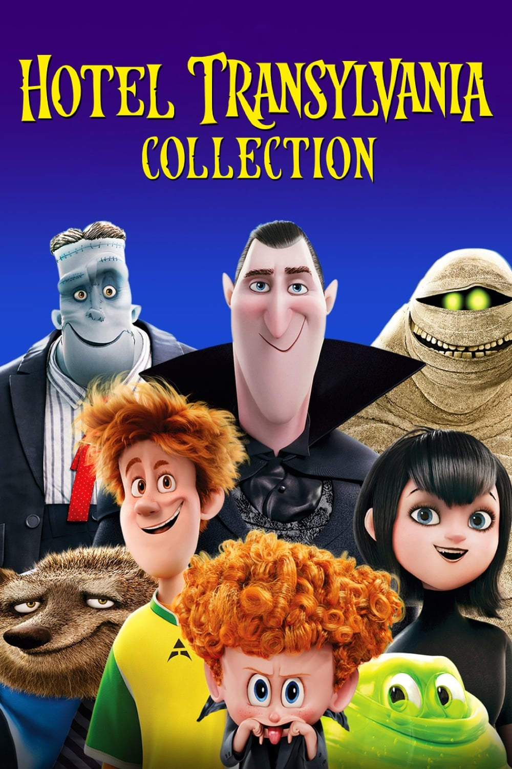 It is a graphic of Clever Hotel Transylvania Pictures