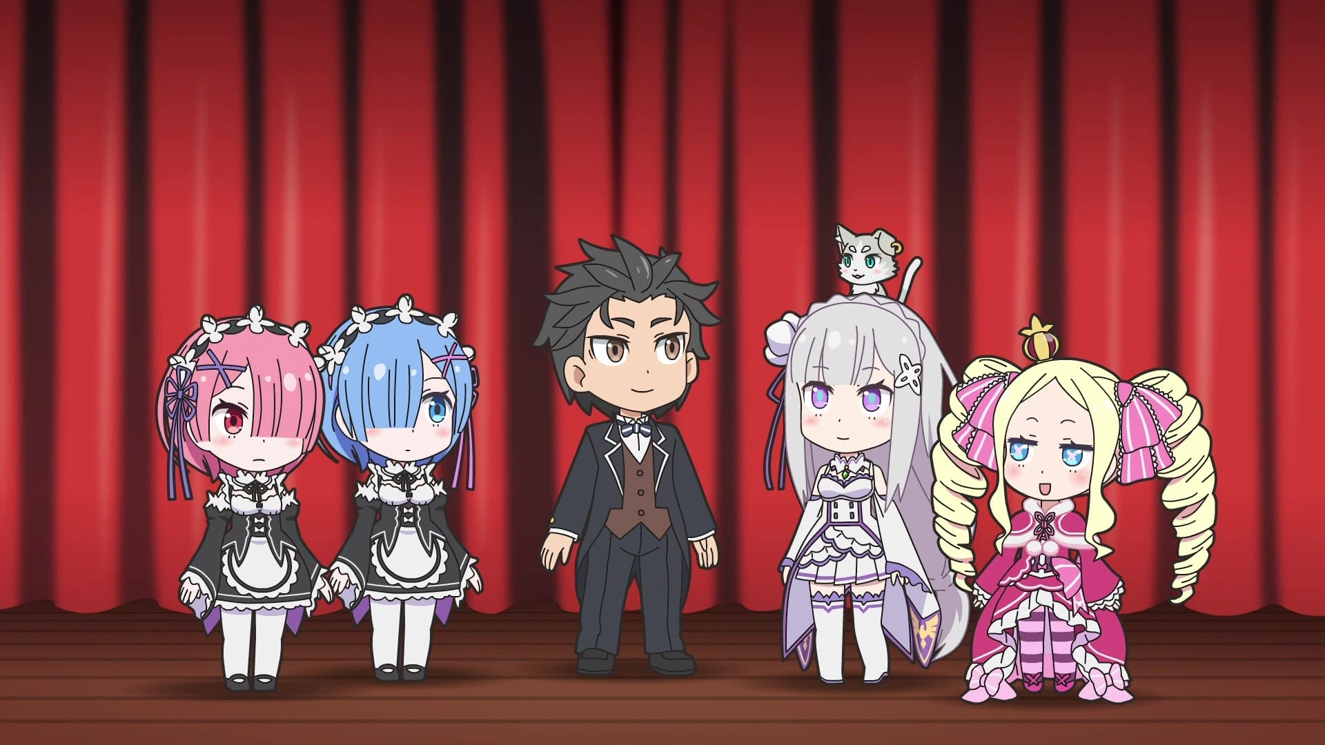 Re:ZERO -Starting Life in Another World- Season 0 :Episode 27  Memory Snow - Theater Manners