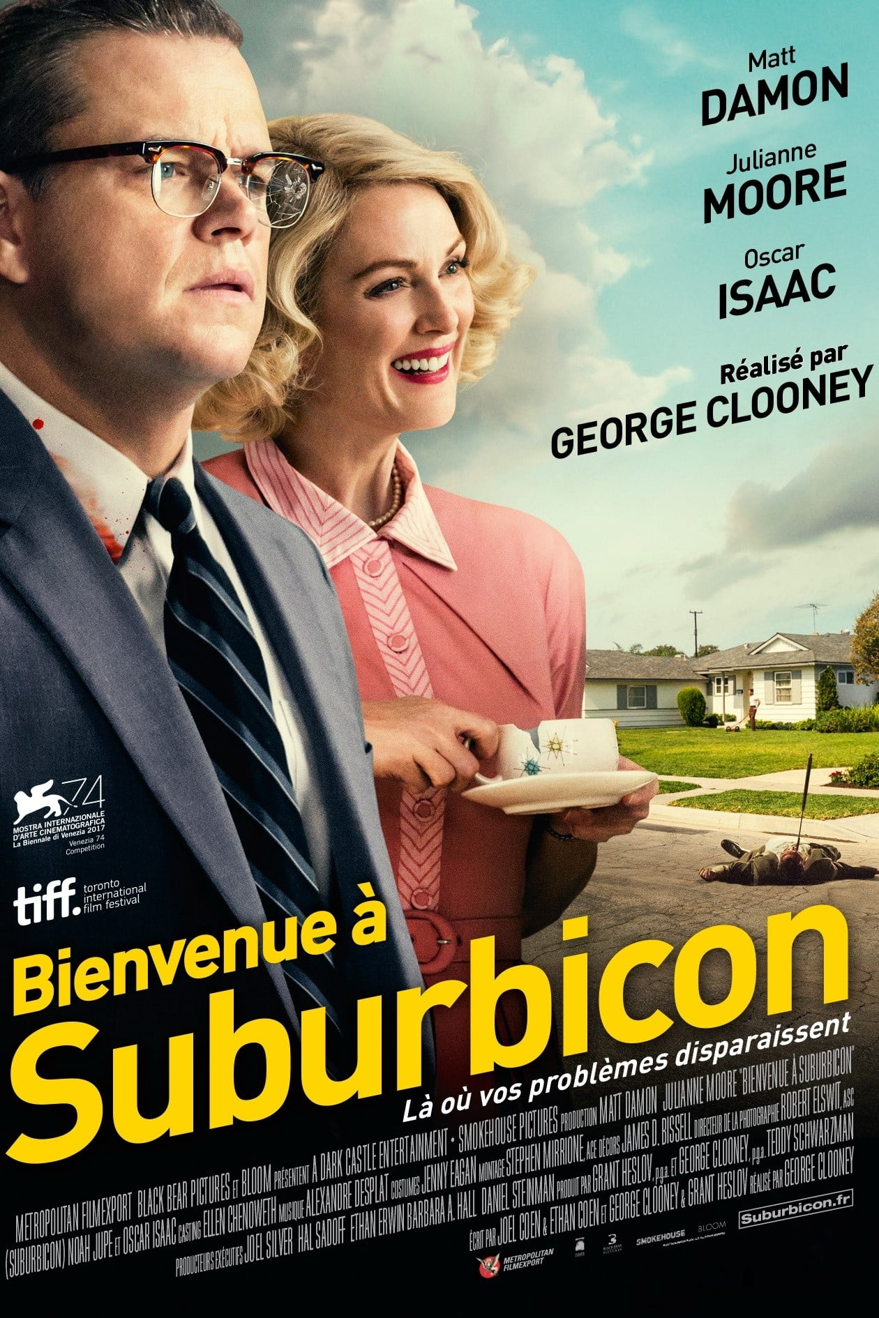 Bienvenue à Suburbicon streaming