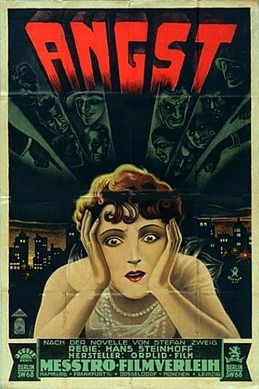 Ver Angst Online HD Español (1929)