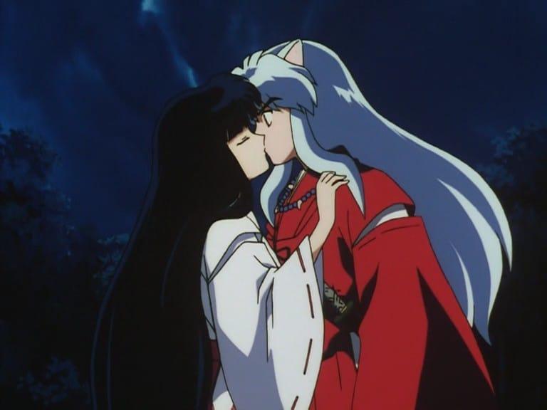 Inuyasha Kagome S Voice And Kikyo S Kiss 2001 Backdrops