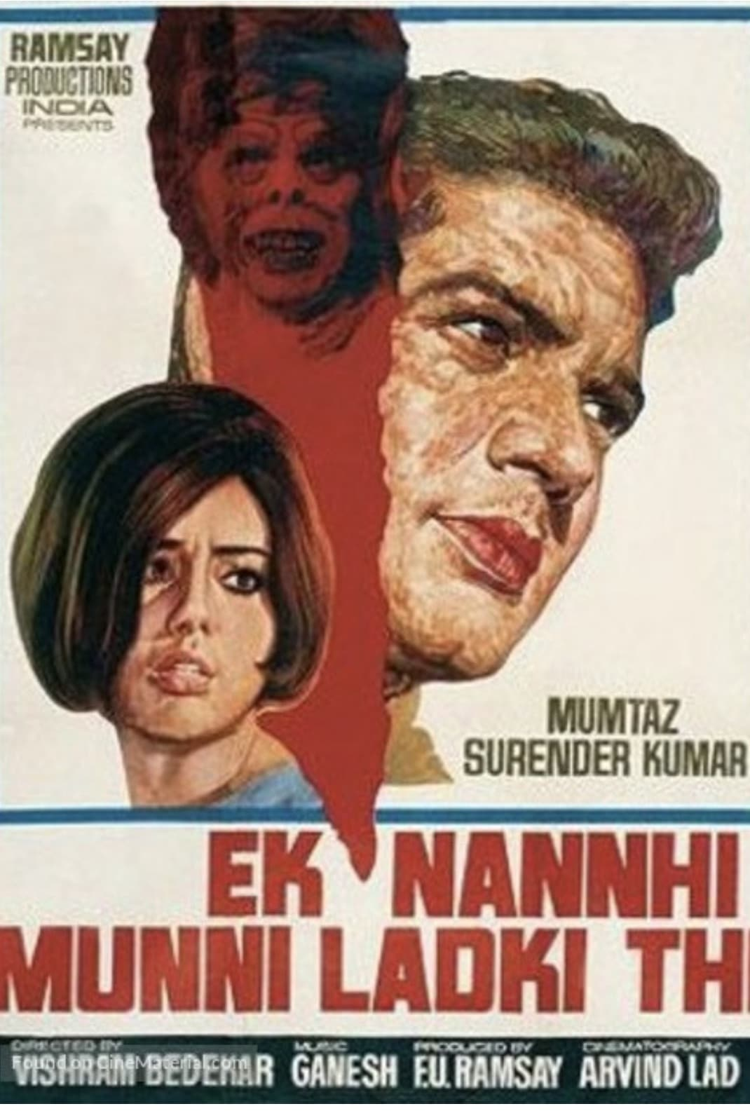 Ver Ek Nanhi Munni Ladki Thi Online HD Español (1970)