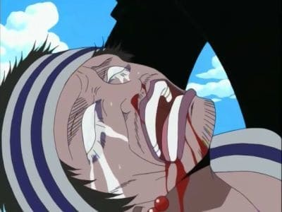 One Piece Season 1 :Episode 28  I Won't Die! Fierce Battle, Luffy vs. Krieg!