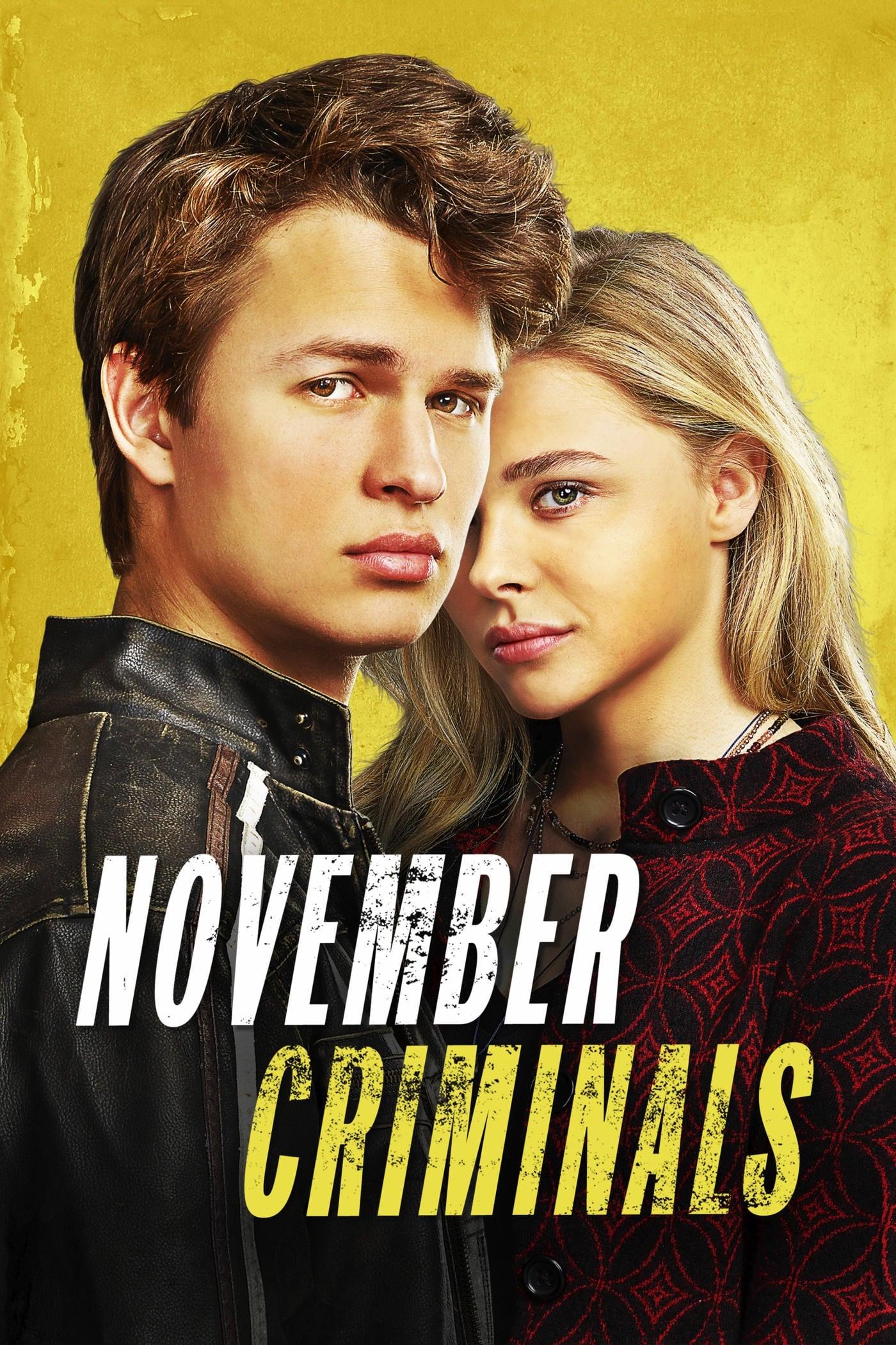 Póster Los criminales de Noviembre