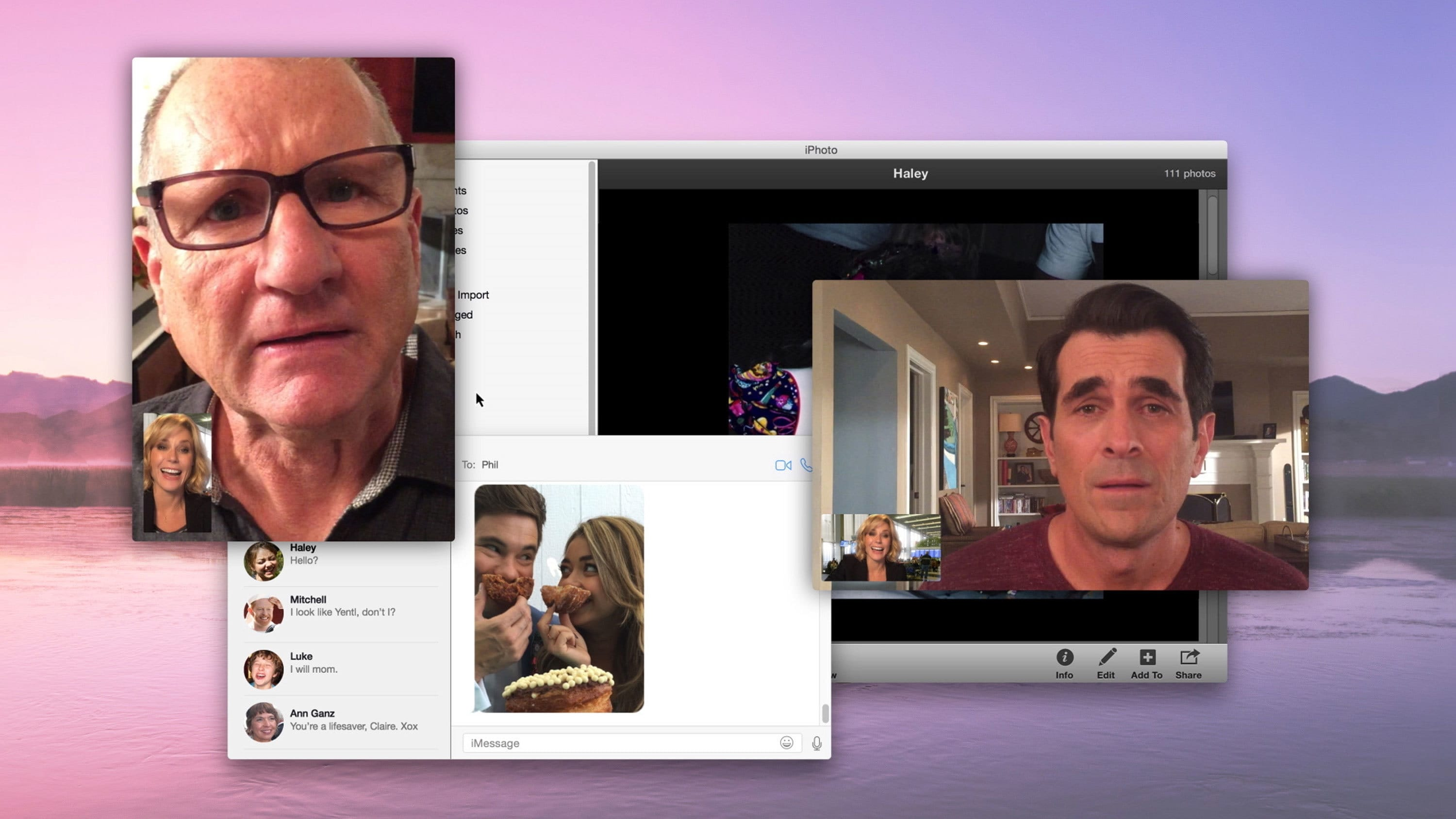 Modern Family Season 6 :Episode 16  Connection Lost