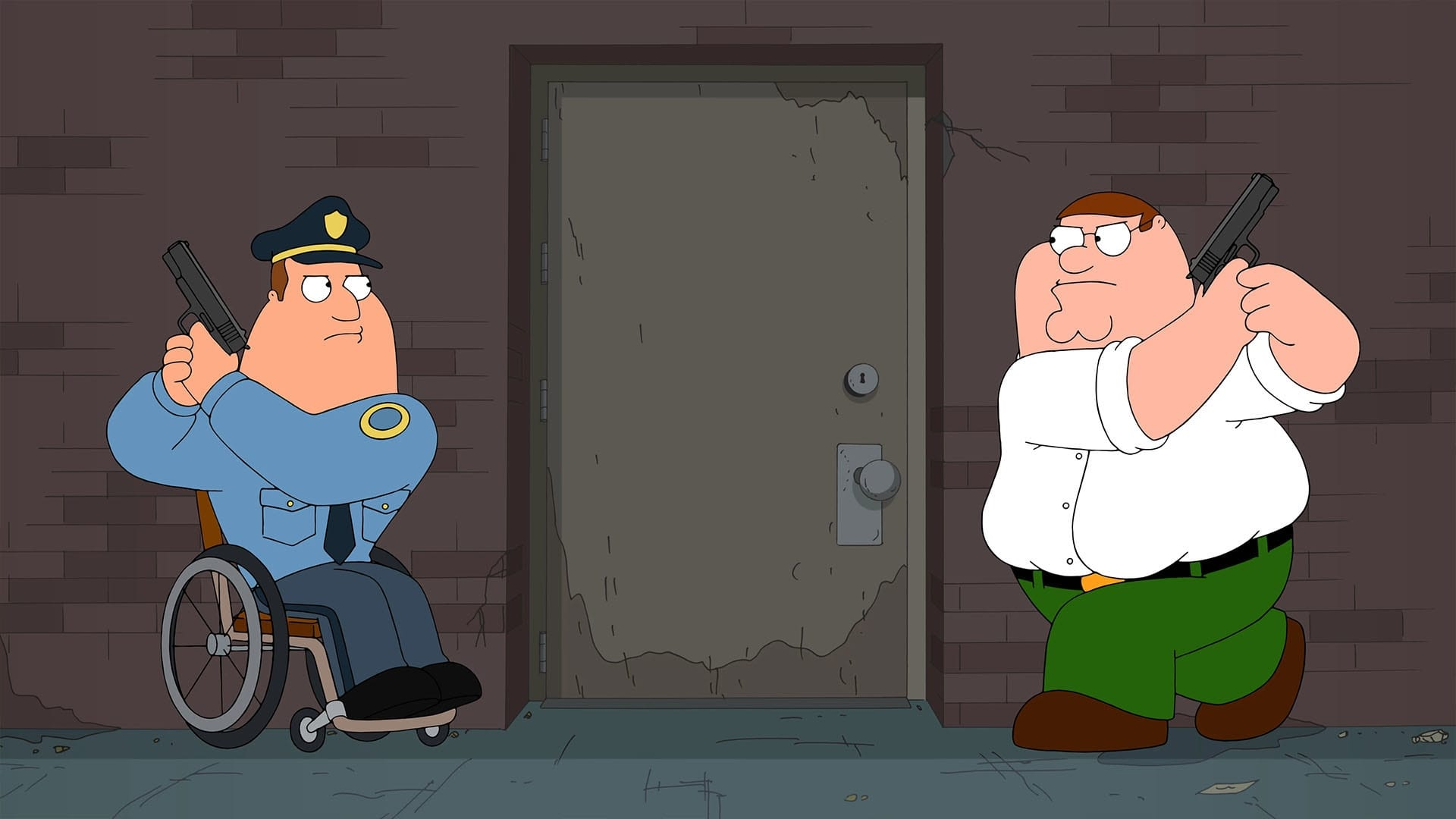 Family Guy - Season 15 Episode 15 : Cop and a Half-wit
