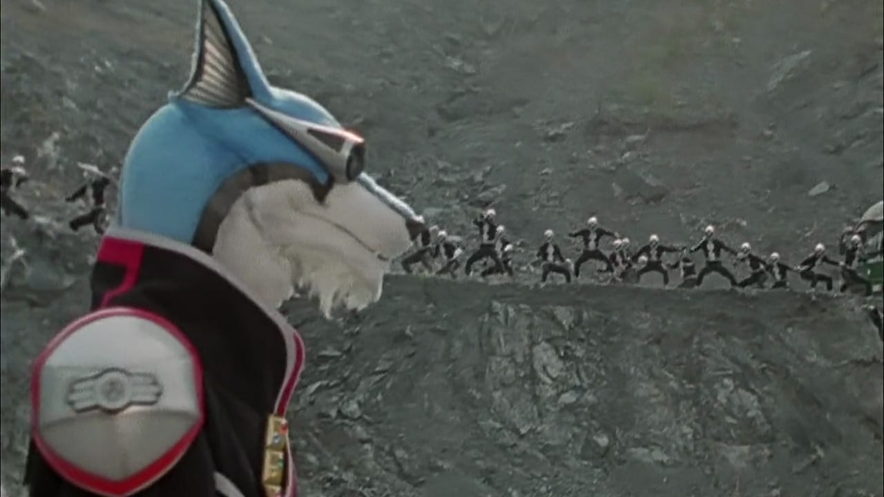 Super Sentai Season 28 :Episode 13  High Noon Dog Fight