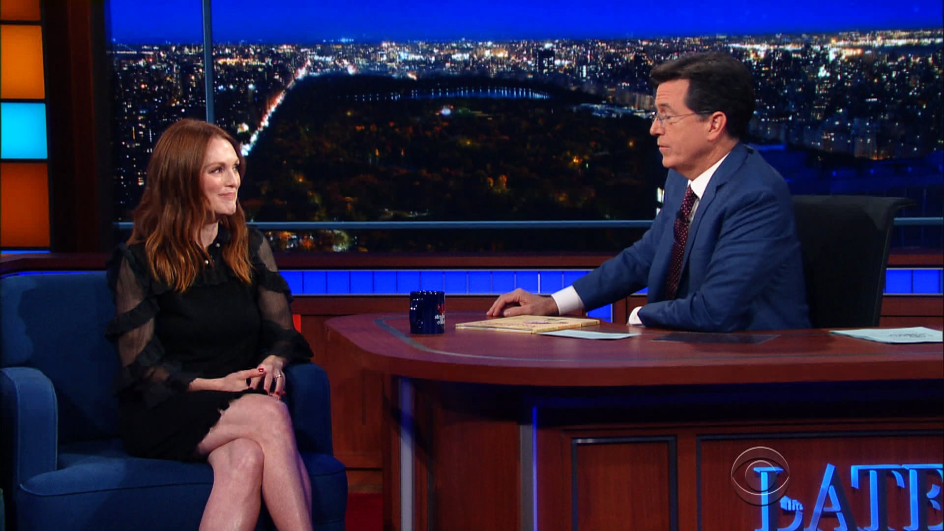 The Late Show with Stephen Colbert Season 1 :Episode 46  Julianne Moore, Burt Reynolds, Public Image Ltd