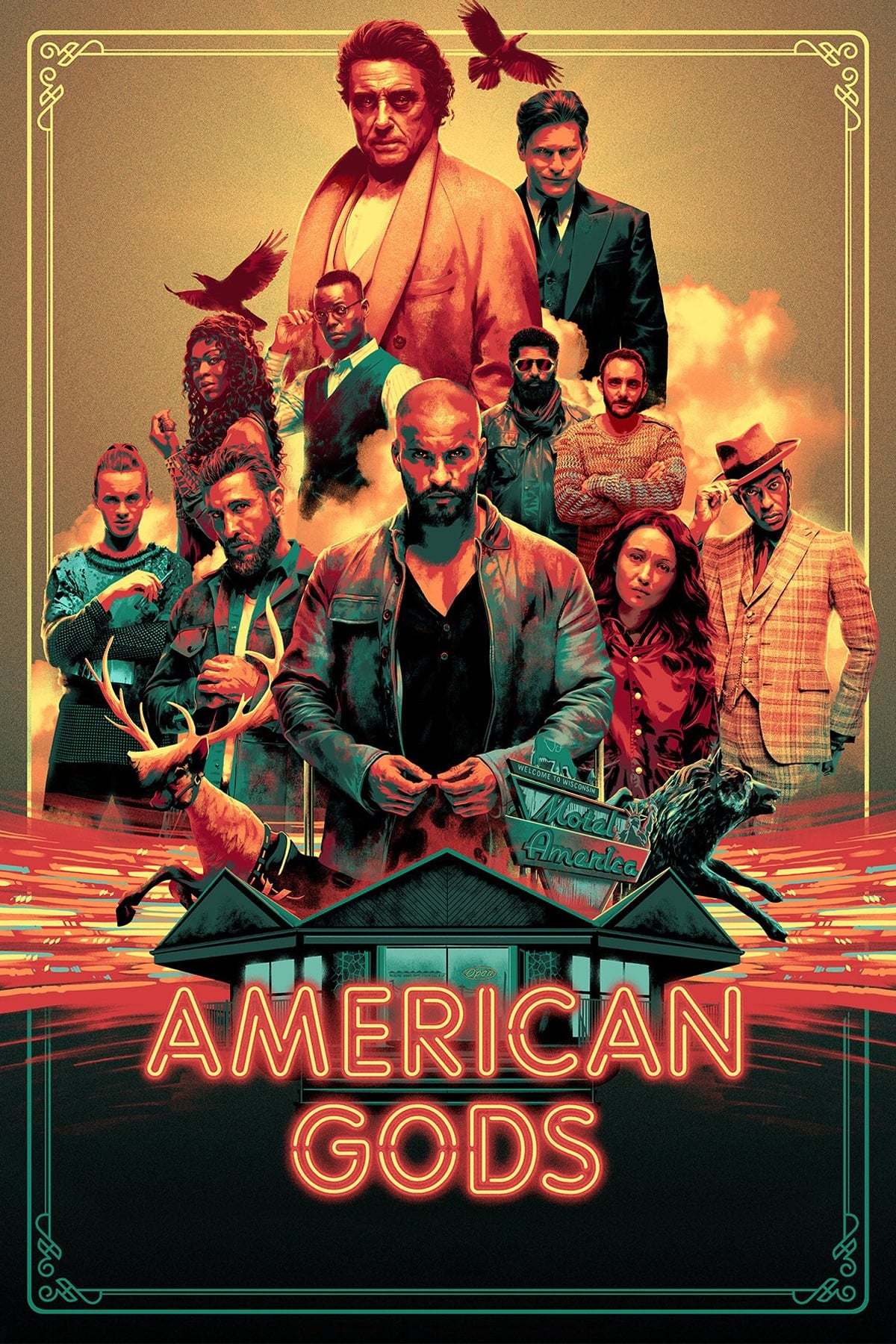 American Gods Stream German