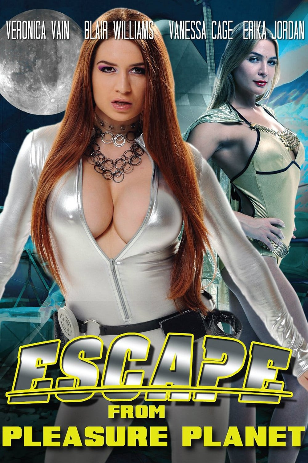 Escape from busty babe land