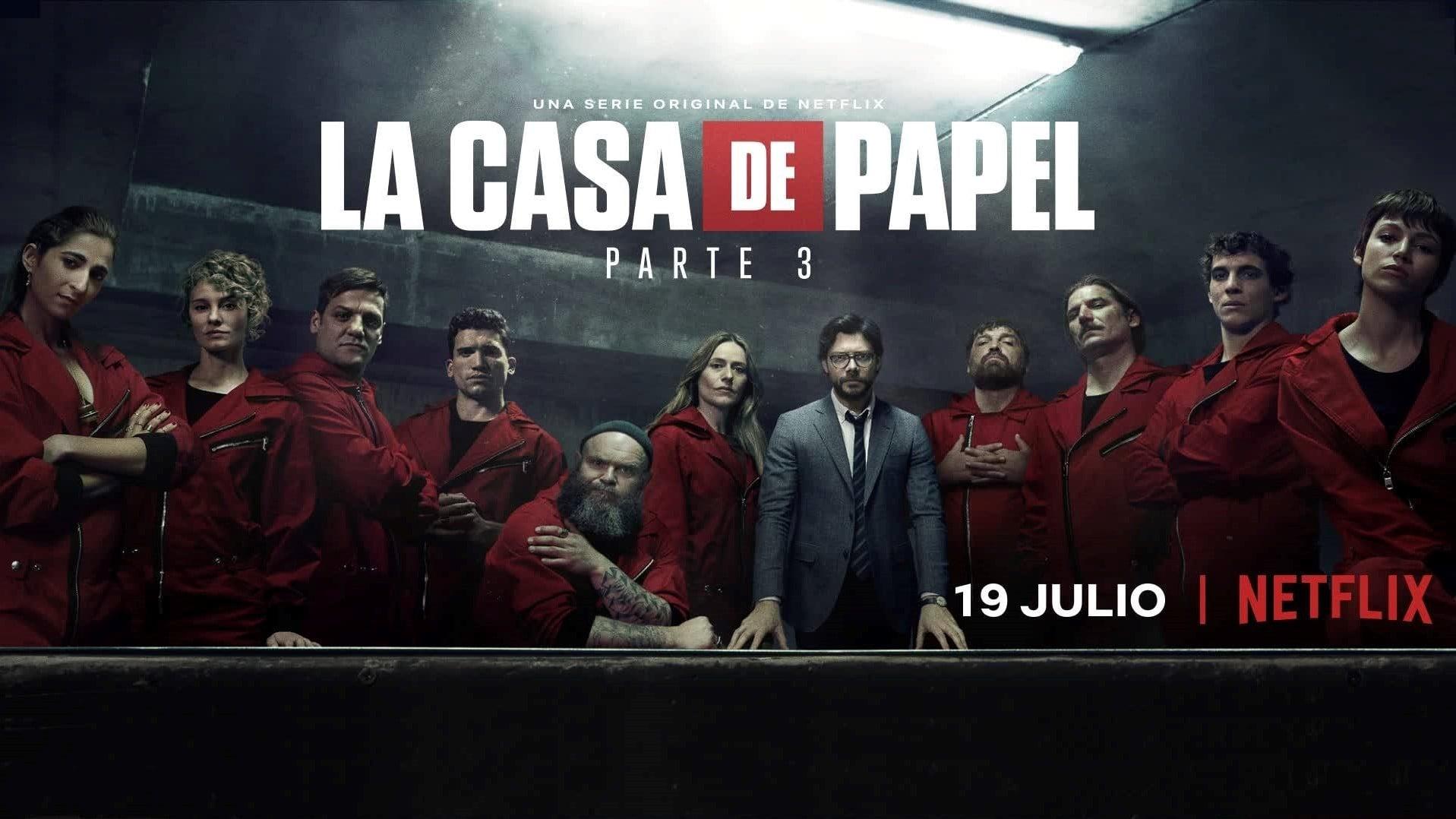 La Casa De Papel 3x4 Streaming Free Online Pandastreaming Org