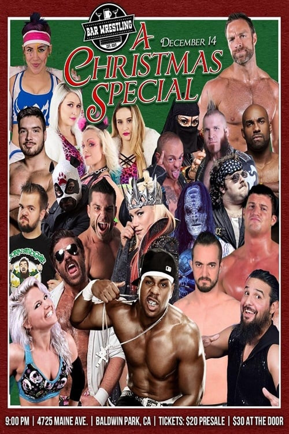 Bar Wrestling 7: A Christmas Special