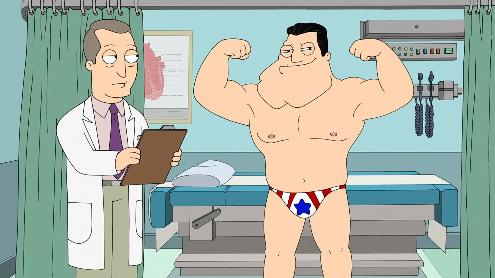 American Dad! Season 14 :Episode 15  The Life and Times of Stan Smith