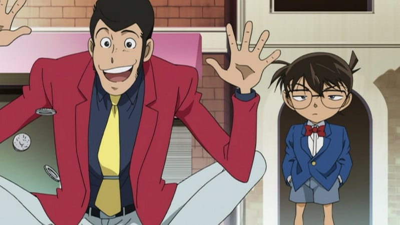 Case Closed Season 0 :Episode 22  Lupin III vs. Detective Conan