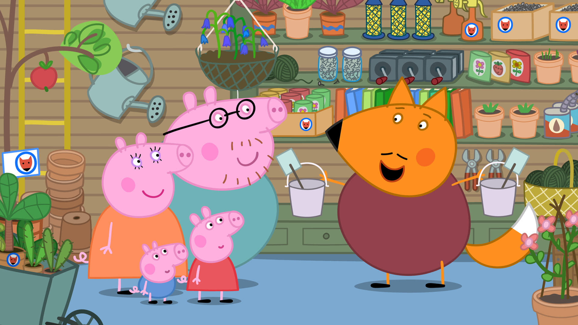 Peppa Pig Season 4 :Episode 6  Mr Fox's Shop