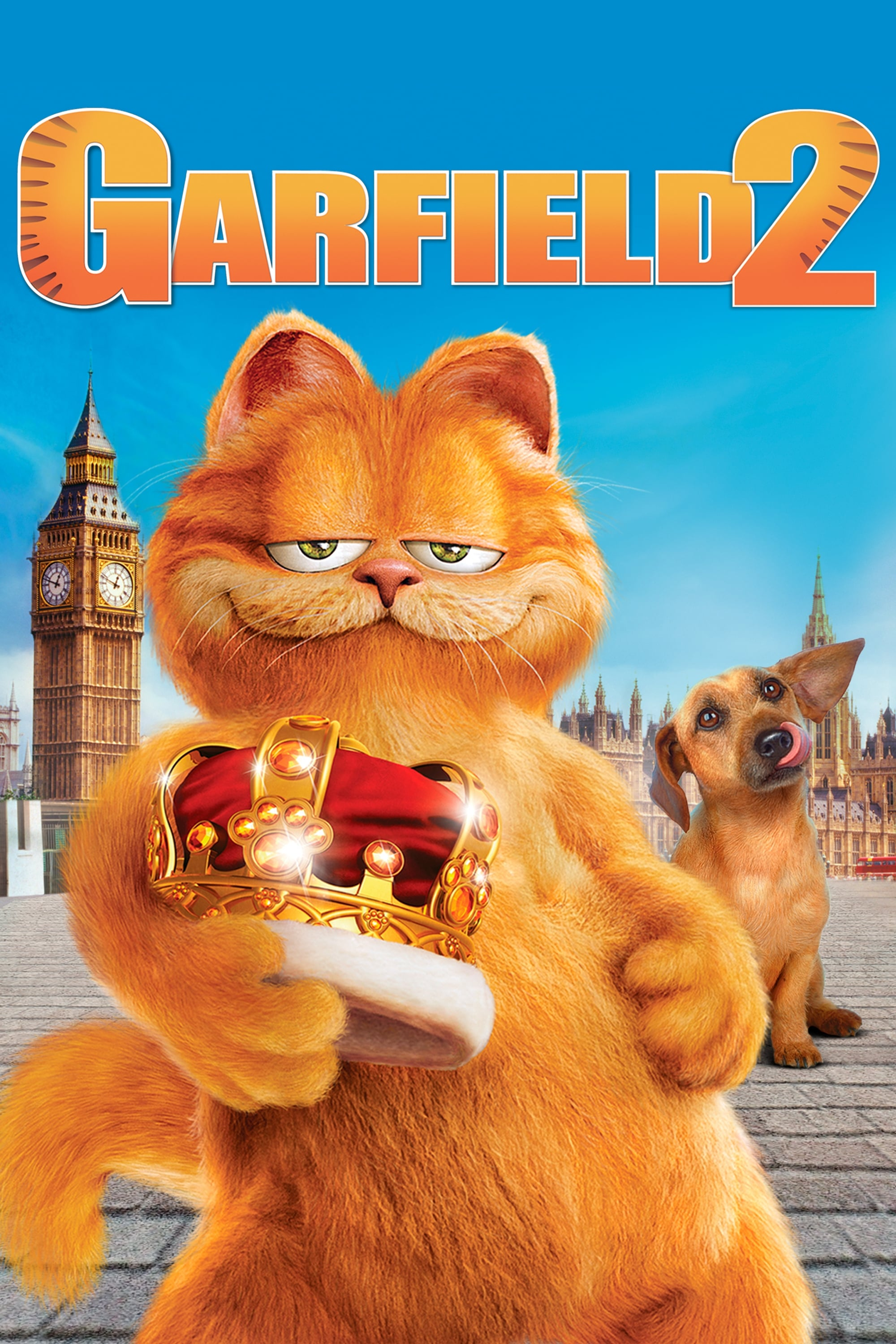 Garfield A Tail Of Two Kitties 2006 Posters The Movie Database Tmdb