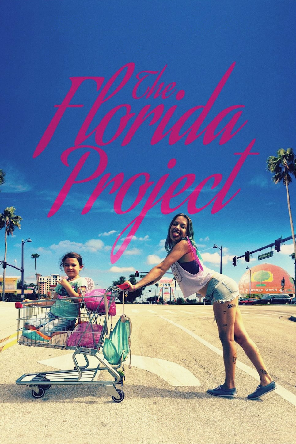 Poster and image movie Film The Florida Project - The Florida Project - The Florida Project -  2017