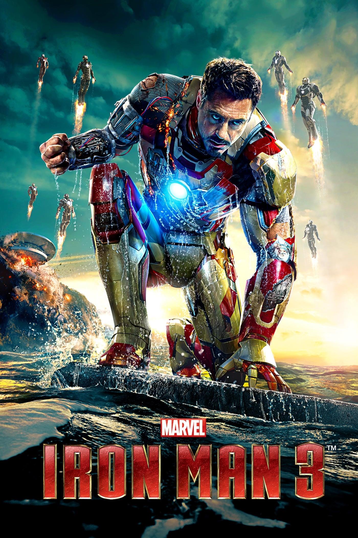 Iron Man 3 (2013) HD 720P LATINO/INGLES