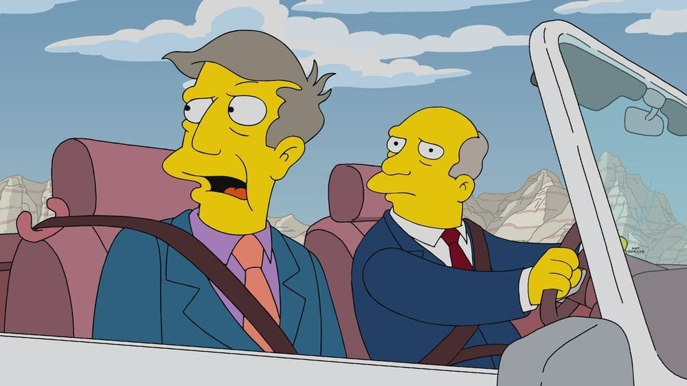 The Simpsons Season 32 :Episode 8  The Road to Cincinnati