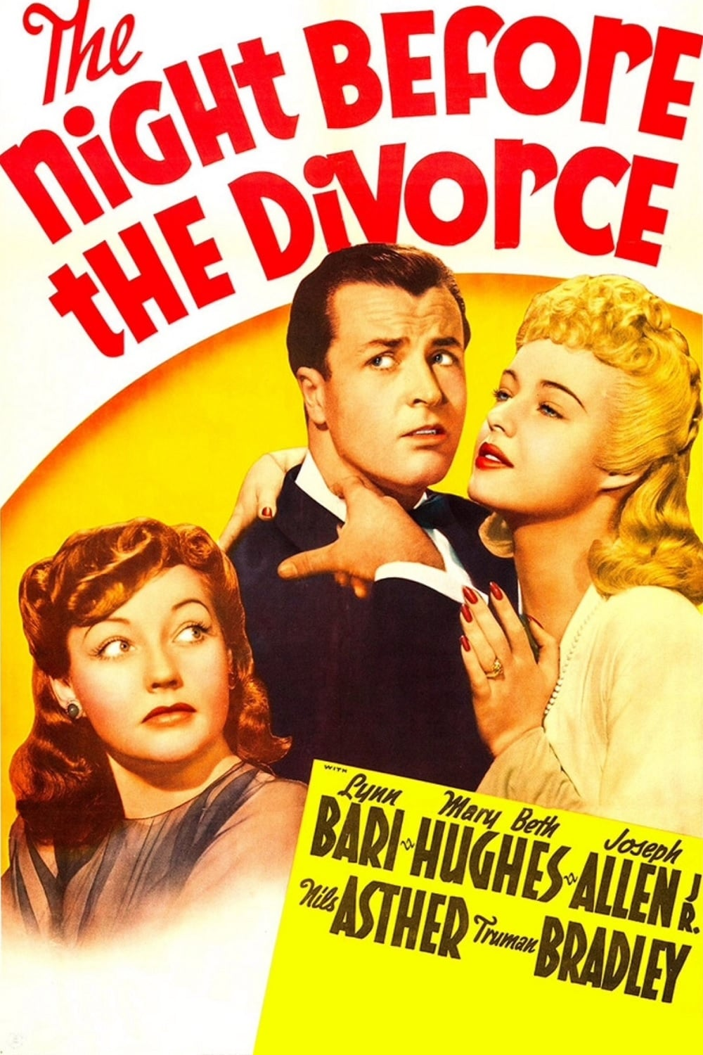 The Night Before the Divorce (1942)
