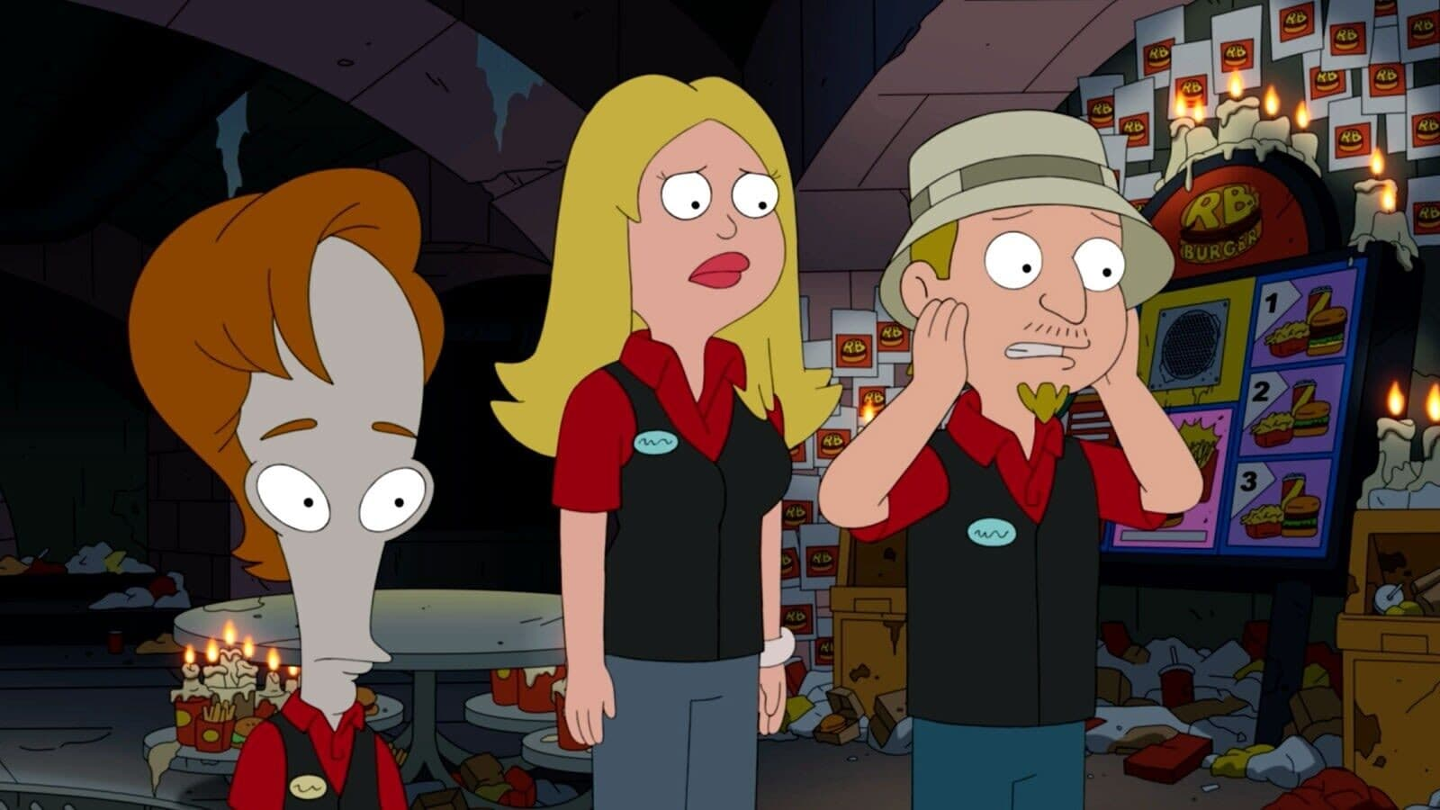 American Dad! Season 17 :Episode 9  Exquisite Corpses